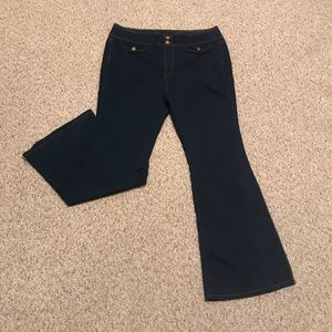 Forever 21 Plus Bellbottom Jeans